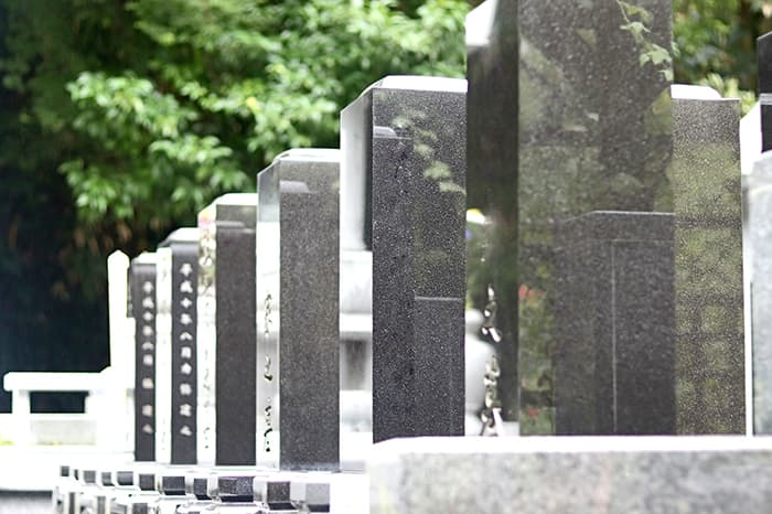 お墓イメージ